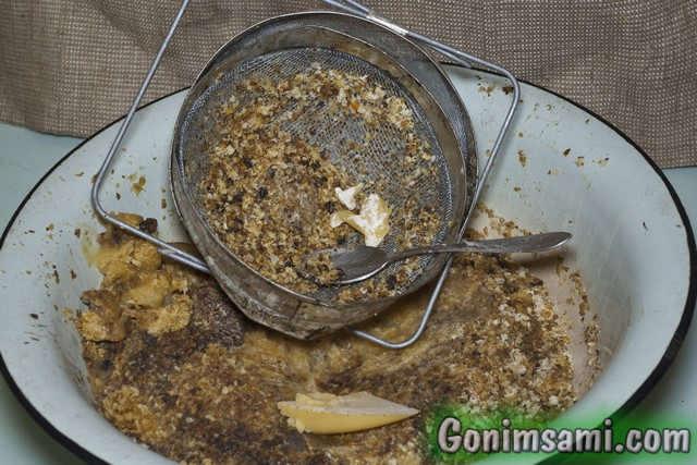 Некондиционный мёд для приготовления браги.