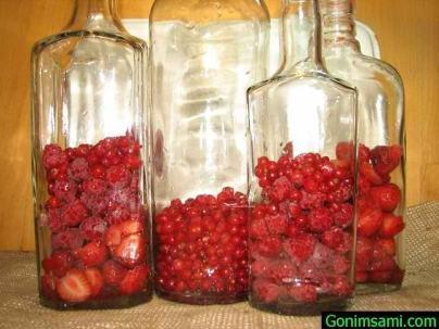 Настойка из малины в домашних условиях без водки