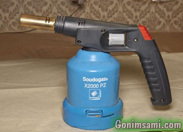 Паяем медь. Испанская газовая горелка для пайки.