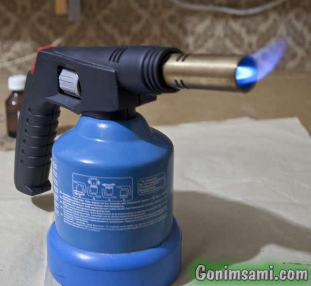 Паяем медь. Испанская газовая горелка на малой мощности.