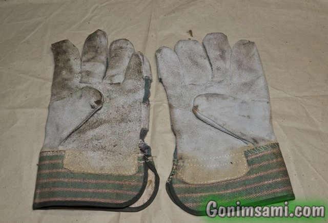 Термостойкие защитные перчатки для сварки/пайки.