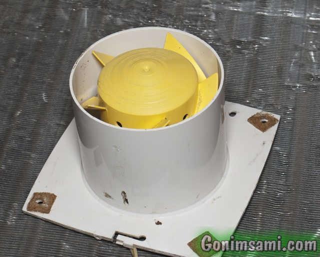 Вентилятор для воздушного охлаждения самогонного аппарата.