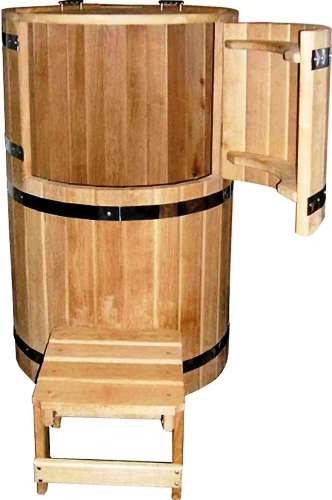 Фитобочка - мини сауна из натурального дуба. Продажа с доставкой по Украине.