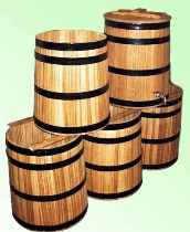 Купить дубовую кадушку для солений и квашений с доставкой в любой город Украины. Только колотый дуб!
